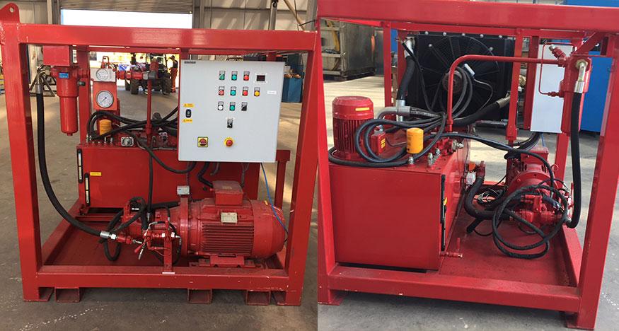 hydraulic power unit, HPU